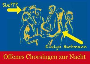 Offenes Singen mit Evelyn Hartmann